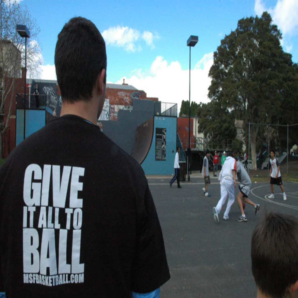 MSF Basketball : Give It All To Ball